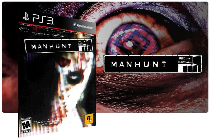 Banner do game Manhunt (PS2 Classic) para PS3