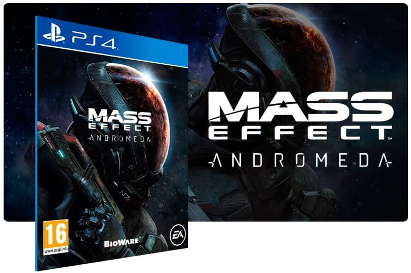 Banner do game Mass Effect: Andromeda para PS4