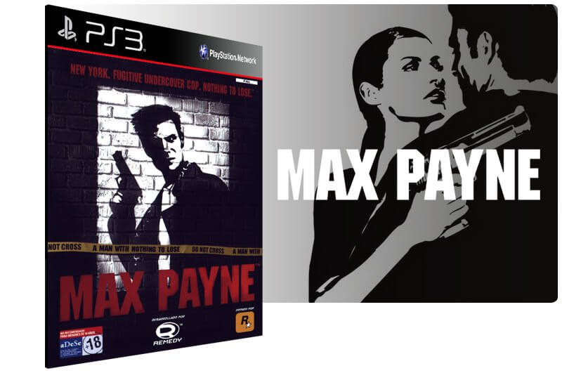 Banner do game Max Payne para PS3