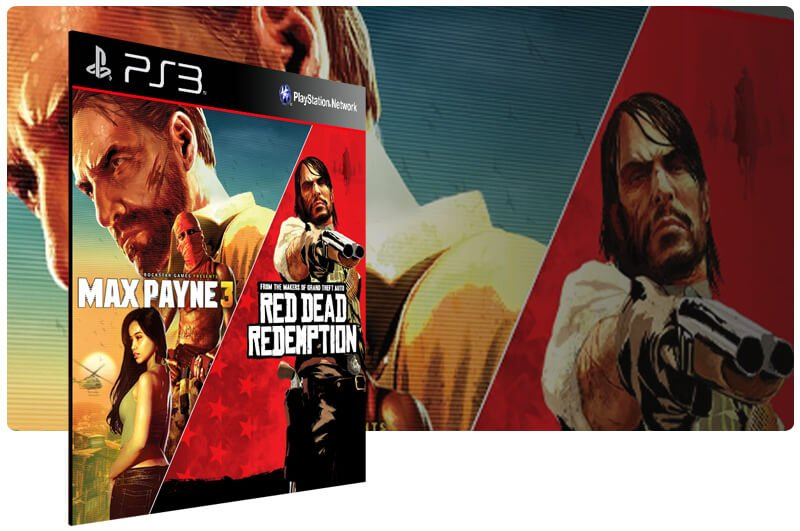 Banner do game Max Payne 3 Complete Edition & Red Dead Redemption Bundle para PS3