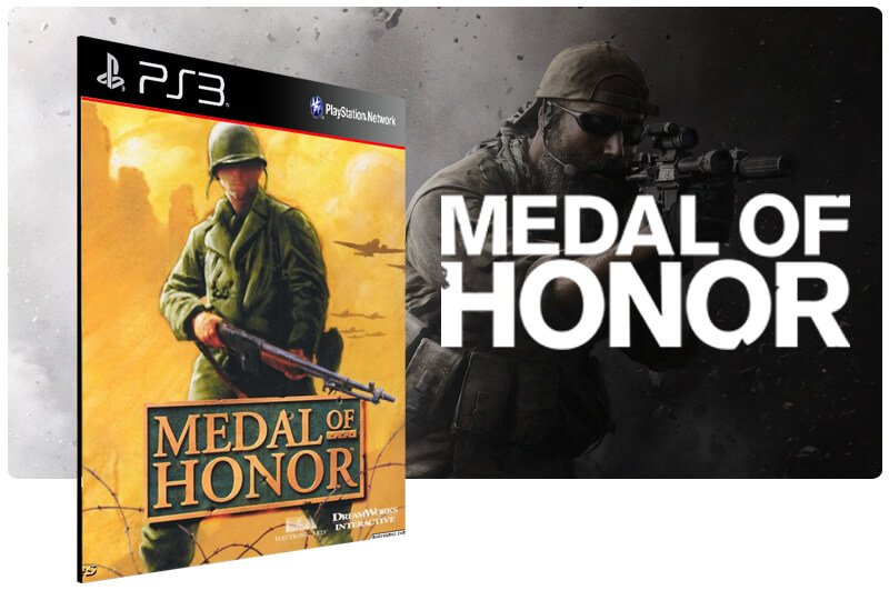 Banner do game Medal Of Honor (Psone Classic) para PS3