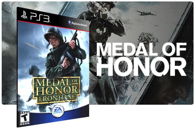 Banner do game Medal of Honor Frontline para PS3