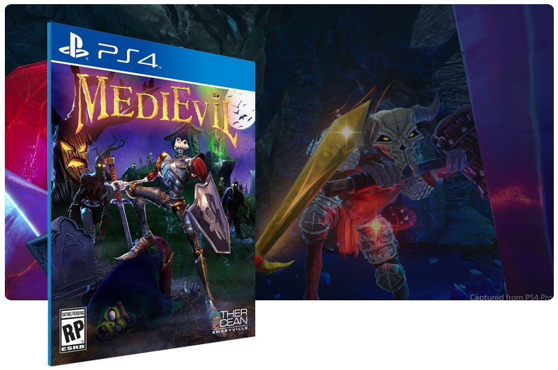 Banner do game MediEvil para PS4