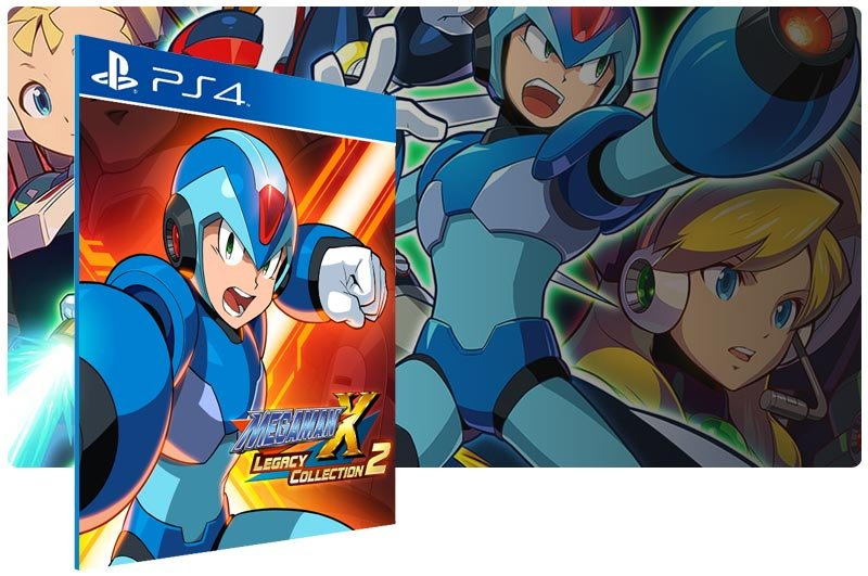 Banner do game Mega Man X Legacy Collection 2 para PS4