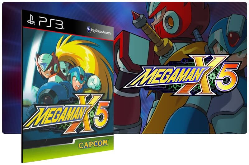 Banner do game Mega Man X5 (Psone Classic) para PS3