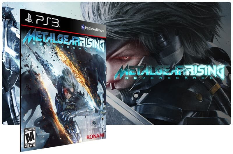 Banner do game Metal Gear Rising Revengeance para PS3