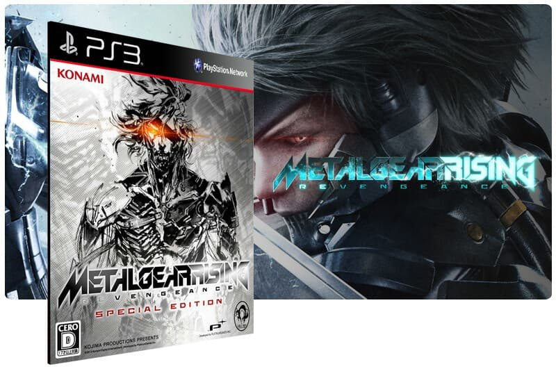 Banner do game Metal Gear Rising Revengeance Ultimate Edition para PS3