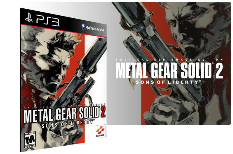 Banner do game Metal Gear Solid 2: Sons of Liberty HD Edition para PS3