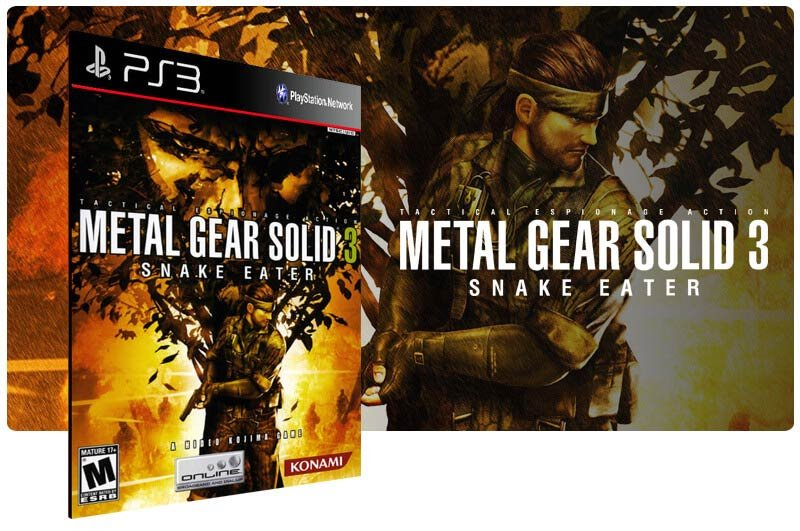 Banner do game Metal Gear Solid 3: Snake Eater para PS3