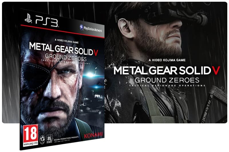 Banner do game Metal Gear Solid 5: Ground Zeroes para PS3
