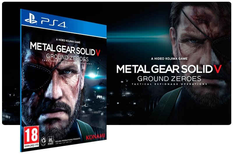 Banner do game Metal Gear Solid 5 Ground Zeroes para PS4