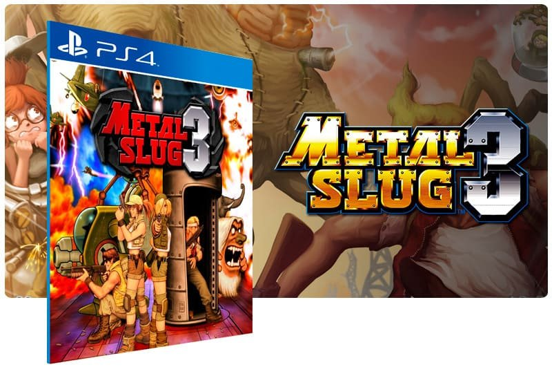 Banner do game Metal Slug 3 para PS4