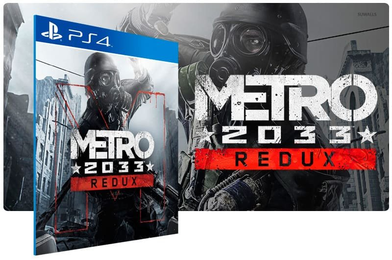 Banner do game Metro 2033 Redux para PS4