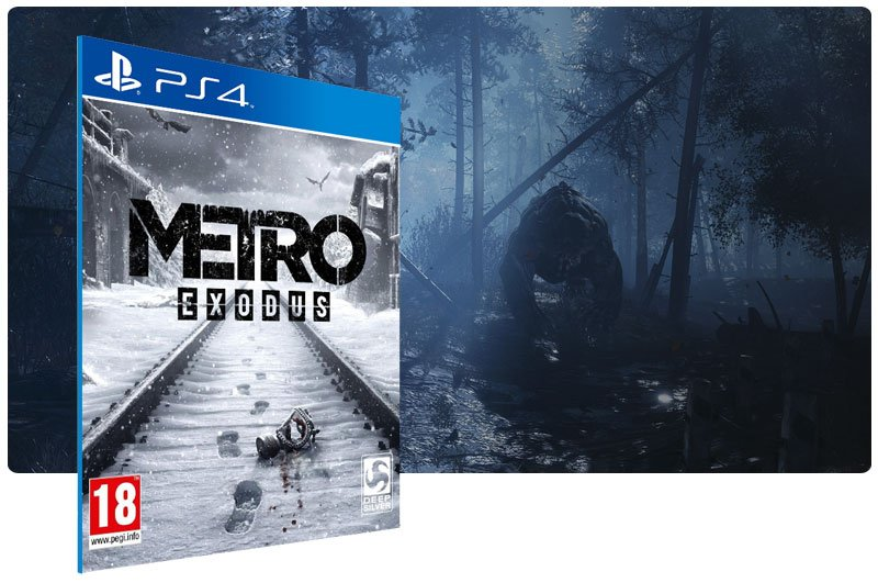 Banner do game Metro Exodus para PS4