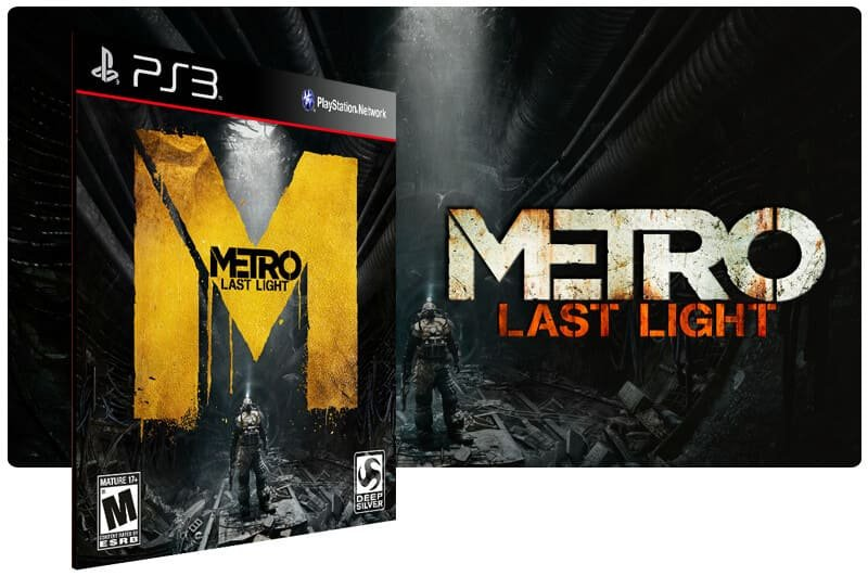 Banner do game Metro Last Light para PS3