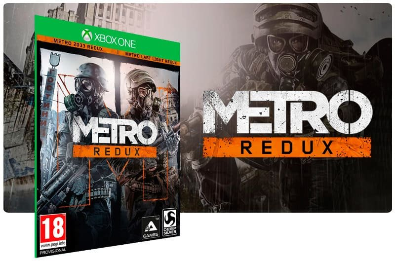 Banner do game Metro Redux Bundle em mídia digital para Xbox One