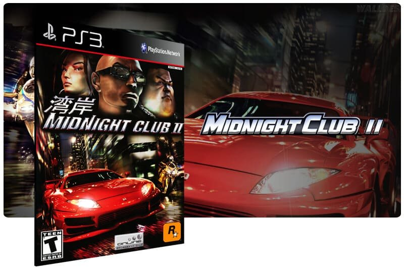 Banner do game Midnight Club 2 para PS3