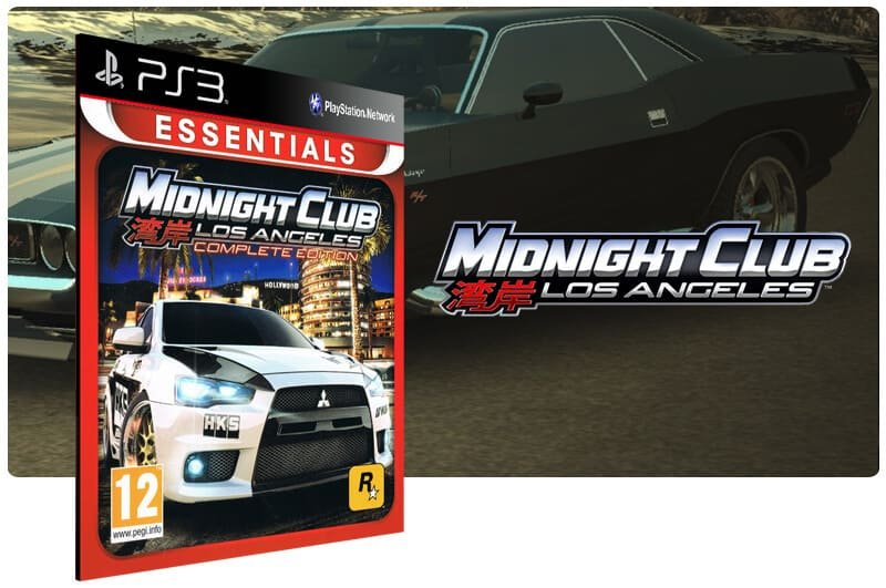 Banner do game Midnight Club Los Angeles Complete Edition para PS3