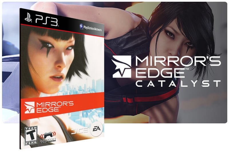 Banner do game Mirrors Edge para PS3