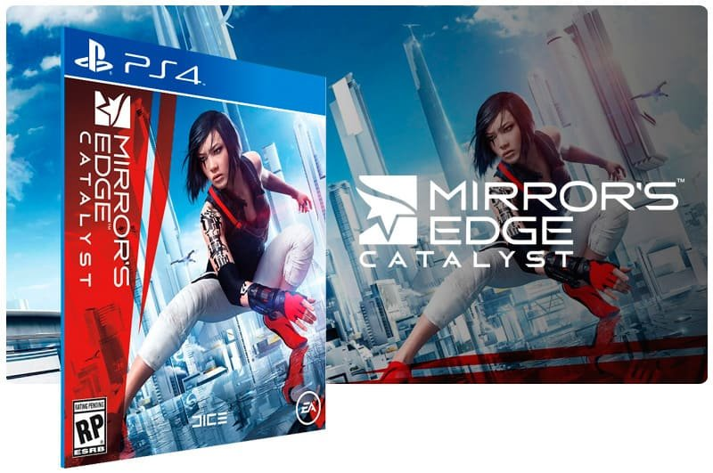 Banner do game Mirrors Edge Catalyst para PS4