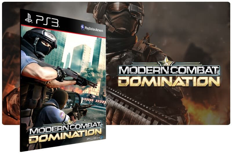 Banner do game Modern Combat Domination para PS3