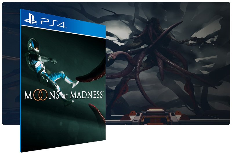 Banner do game Moons of Madness para PS4