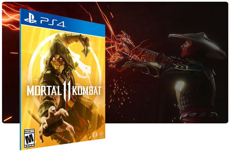Banner do game Mortal Kombat 11 para PS4