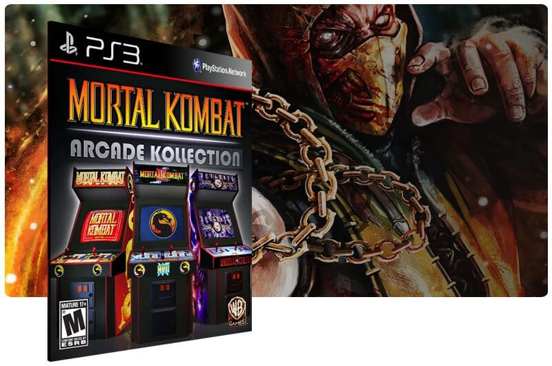 Banner do game Mortal Kombat Arcade Kollection para PS3
