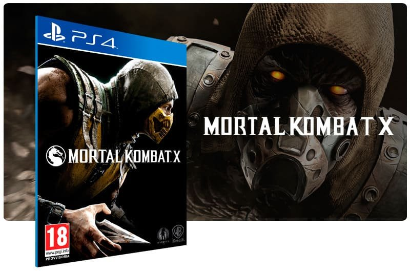 Banner do game Mortal Kombat X para PS4