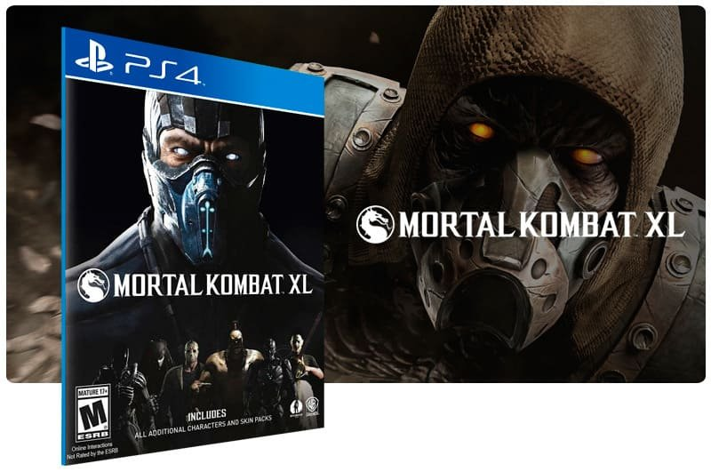 Banner do game Mortal Kombat XL  para PS4