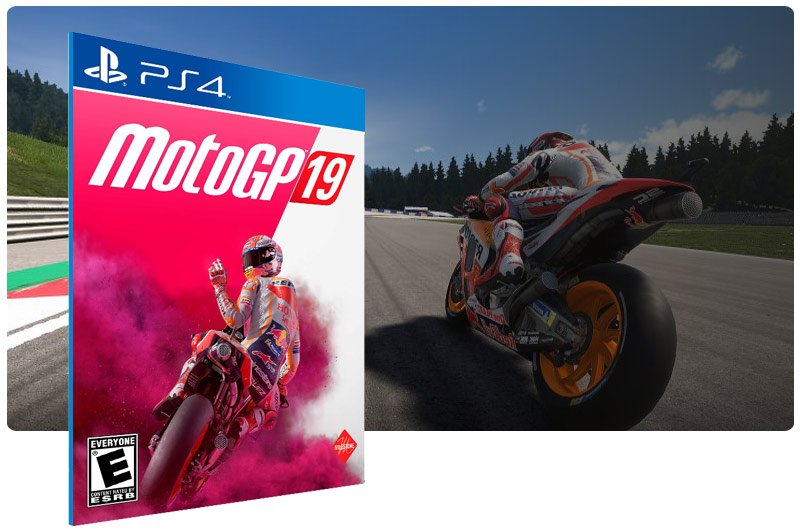 Banner do game MotoGP 19 para PS4
