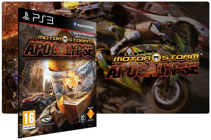 Banner do game Motorstorm Apocalypse para PS3