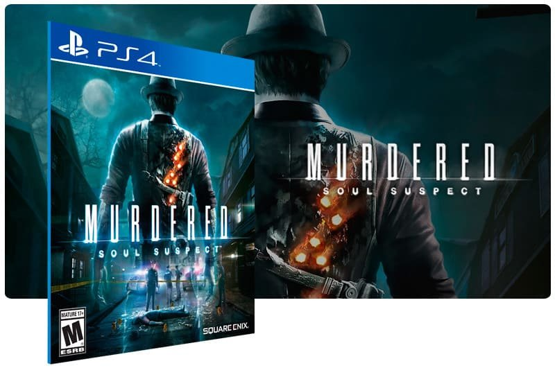 Banner do game Murdered Soul Suspect  para PS4