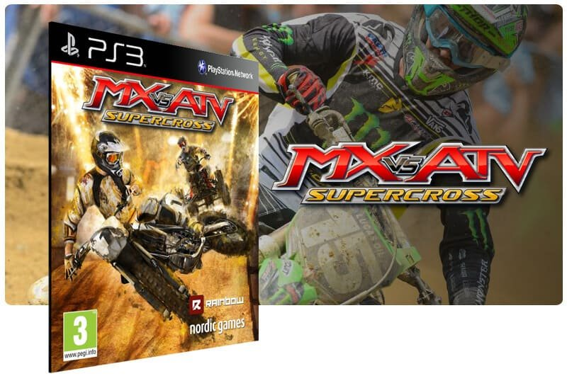 Banner do game Mx Vs Atv Supercross para PS3