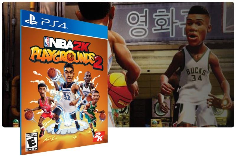 Banner do game NBA 2K Playgrounds 2 para PS4