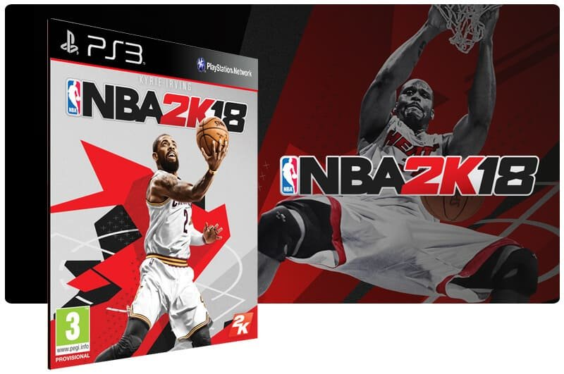 Banner do game NBA 2K18 para PS3