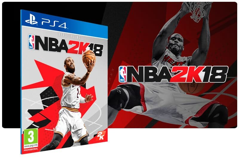 Banner do game NBA 2K18 para PS4