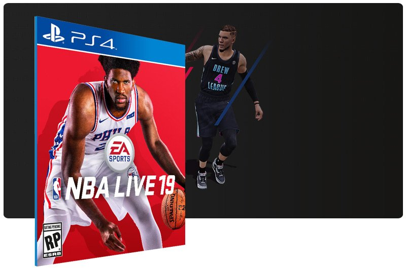 Banner do game NBA LIVE 19 The One Edition para PS4