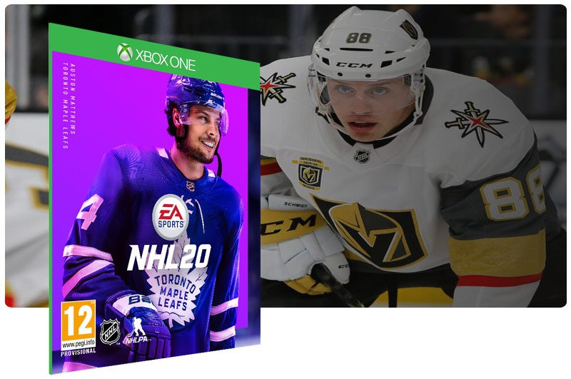 Banner do game NHL 20 Standard Edition em mídia digital para Xbox One