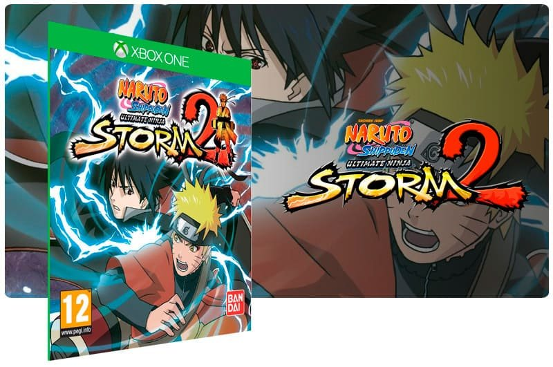 Banner do game Naruto Shippuden: Ultimate Ninja Storm 2 em mídia digital para Xbox One