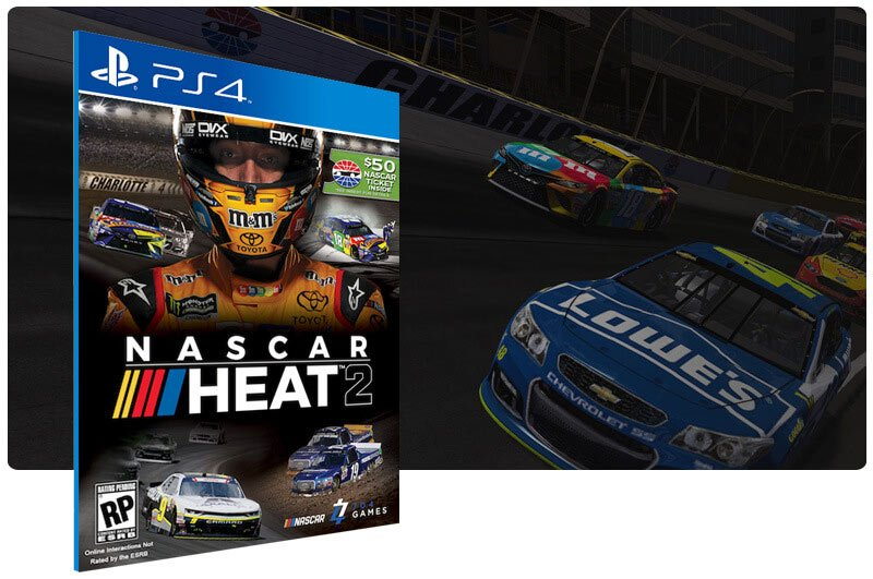 Banner do game Nascar Heat 2 para PS4