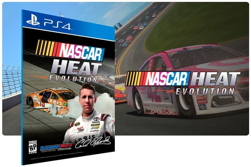Banner do game Nascar Heat Evolution para PS4