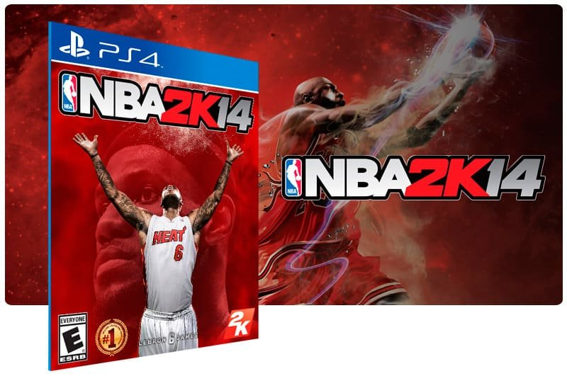 Banner do game Nba 2K14 para PS4