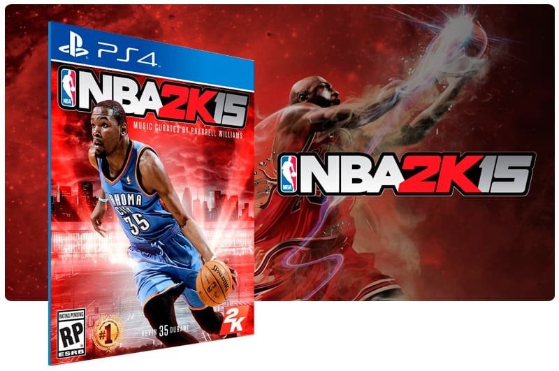 Banner do game Nba 2K15 para PS4