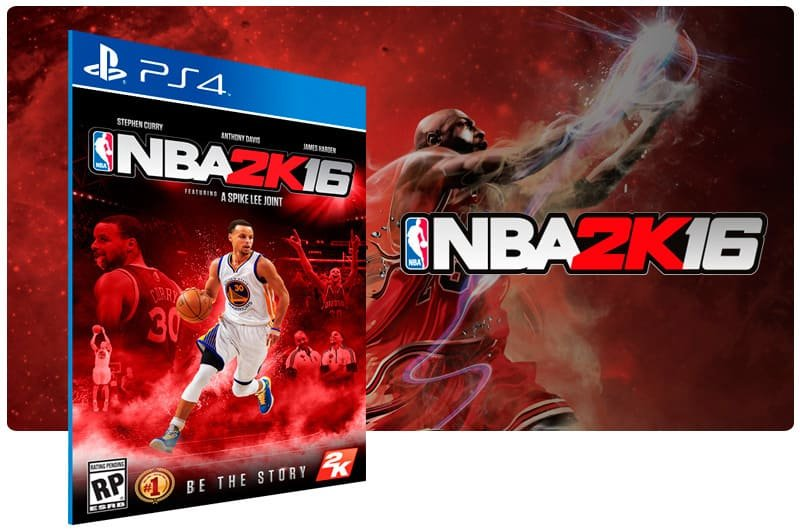 Banner do game Nba 2K16 para PS4