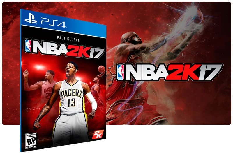 Banner do game Nba 2K17 para PS4