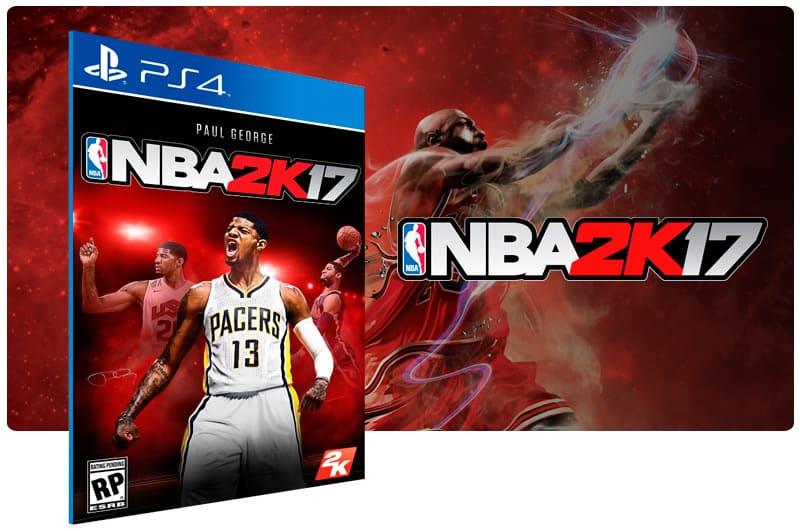 Banner do game Nba 2K17 para PS4