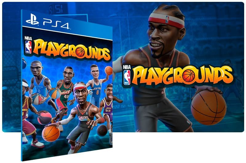 Banner do game Nba Playgrounds para PS4
