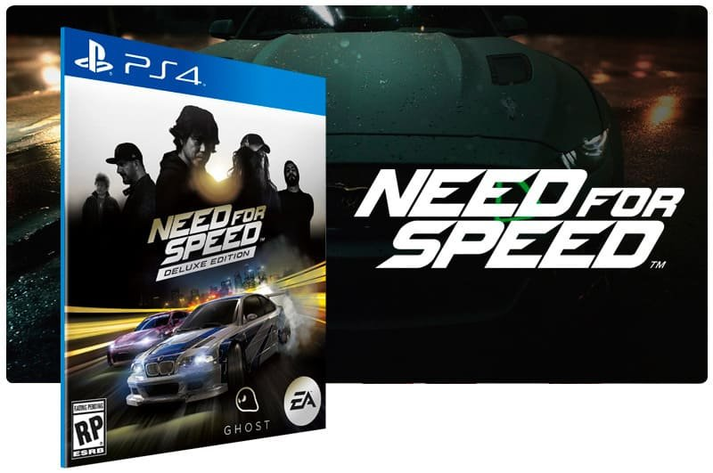 Banner do game Need For Speed Deluxe Edition para PS4
