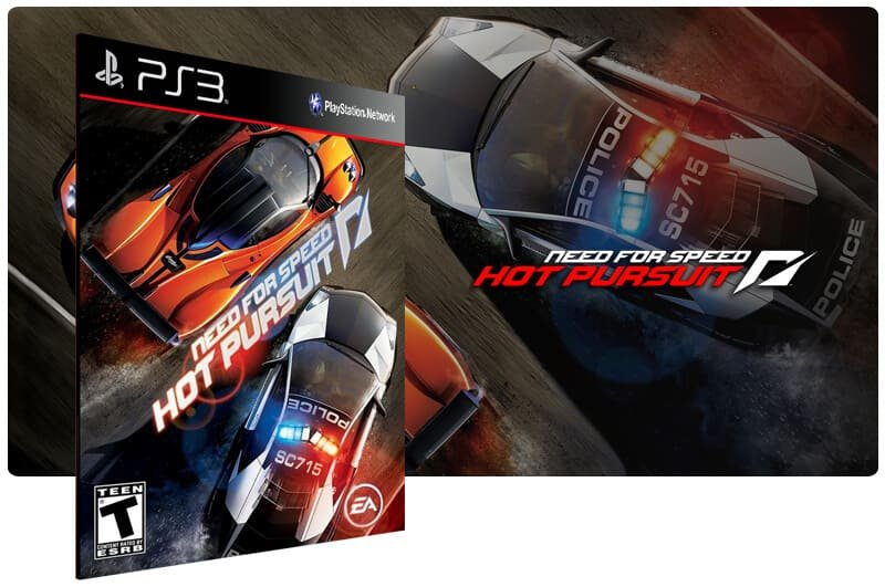 Banner do game Need For Speed Hot Pursuit para PS3